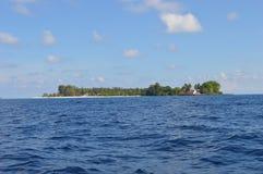 Île de Samber Gelap, Kotabaru, Bornéo du sud, Indonésie photos stock