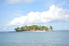 Île de Samber Gelap, Kotabaru, Bornéo du sud, Indonésie photographie stock libre de droits