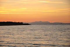 Île de Samothrace, Grèce Images stock