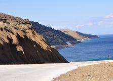 Île de Samothrace, Grèce Images libres de droits