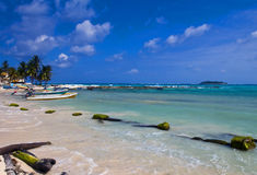 Île de San Andres, Colombie Photos libres de droits