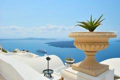 Île de Santorini Image libre de droits