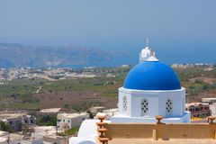 Île de Santorini, Grèce Photo libre de droits