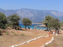 Île de Sedir (Cléopâtre) Images libres de droits