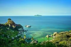 Île de Senoa de Natuna Indonésie Image libre de droits