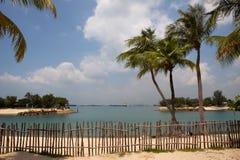 Île de Sentosa, Singapour images stock