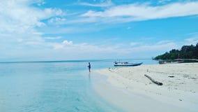 Île de Seruni photo stock