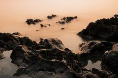 Île de SI-Chang de paysage marin Images stock