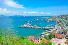 Île 2 de Sichang photos stock