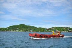 Île de Sichung sur le bateau, Thaïlande Images libres de droits