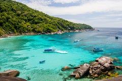 Île de Similan Image libre de droits