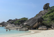 Île de Similan photographie stock libre de droits