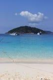 Île de Similan Images libres de droits