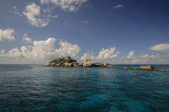 Île de Similan, mer d'Andaman, Thaïlande Images stock