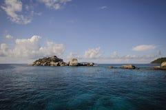 Île de Similan, mer d'Andaman, Thaïlande Image libre de droits