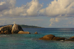 Île de Similan, mer d'Andaman, Thaïlande Image stock