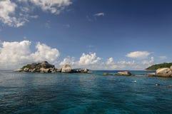 Île de Similan, mer d'Andaman, Thaïlande Photo stock