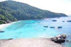 Île de Similan, Thaïlande Image libre de droits