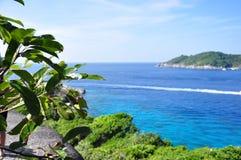 Île de Similan, Thaïlande Photos stock