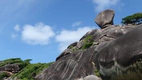 Île de Similan une île rêveuse photos stock