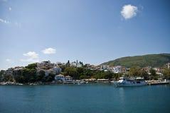 Île de Skiathos en Grèce Photographie stock libre de droits