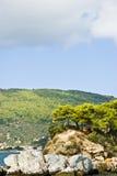 Île de Skiathos, Grèce Image libre de droits