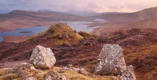 Île de Skye Photographie stock libre de droits