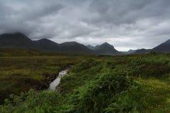 Île de Skye, Ecosse photographie stock