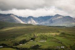 Île de Skye Landscape Image stock