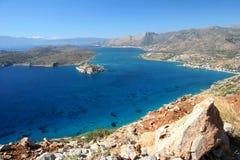 Île de Spinalonga images libres de droits