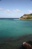 Île de St Barthelemy, des Caraïbes Photo libre de droits