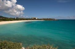 Île de St Martin, des Caraïbes Photos libres de droits