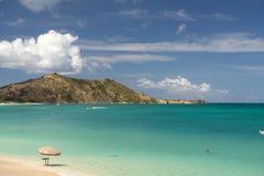 Île de St Martin, des Caraïbes Images libres de droits