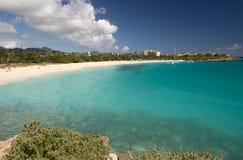 Île de St Martin, des Caraïbes Photographie stock