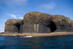 Île de Staffa, Ecosse Photographie stock