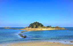 Île de Sterec - la Bretagne, France Photographie stock libre de droits