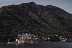 Île de StGeorge dans Monténégro Images libres de droits