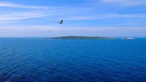 Île de StIvan Photo stock