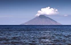 Île de Stromboli photos libres de droits