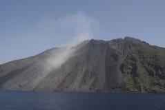 Île de Stromboli Photo stock