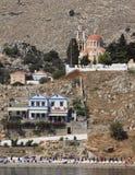 Île de Symi en Grèce Images libres de droits