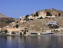 Île de Symi en Grèce Image stock
