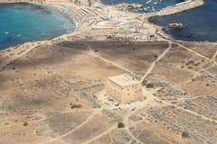 Île de Tabarca dans Alicante, Espagne Images libres de droits