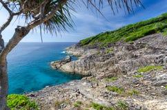 Île de Tachai Images stock