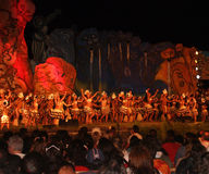 Île de Tapati Pâques de festival Photos stock