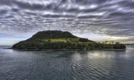 Île de Tauranga, Nouvelle-Zélande Photo libre de droits