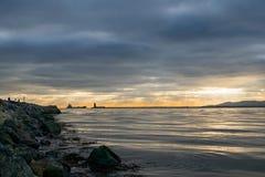 Île de Taureau, Dublin Ireland Photographie stock