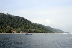 Île de Tioman en Malaisie Photos libres de droits