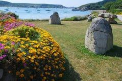 Île de Tresco, les Cornouailles photos stock