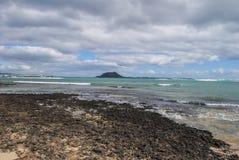 Île de vacances Images libres de droits